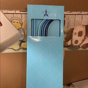 Jeffree Star 4 piece reusable drinking straw set